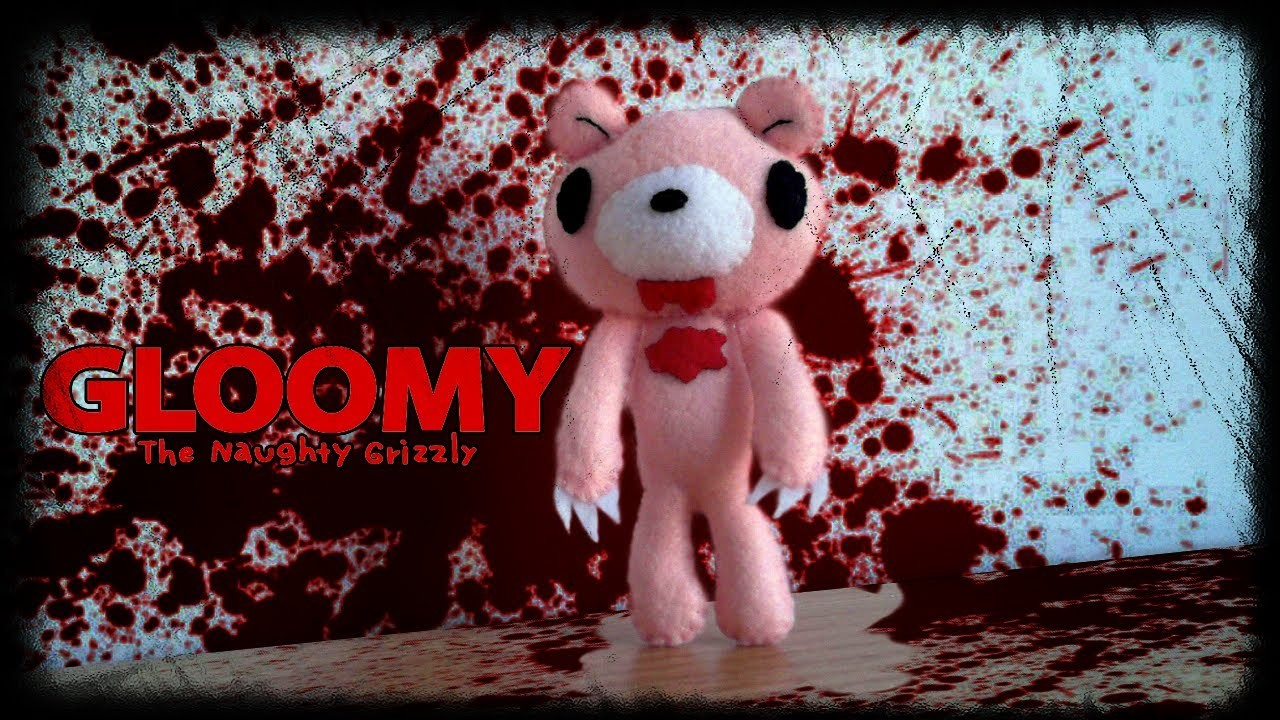 How to Make a Gloomy Bear Plushie from felt