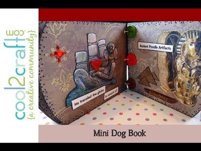 How to Make a Mini Keepsake Dog Book