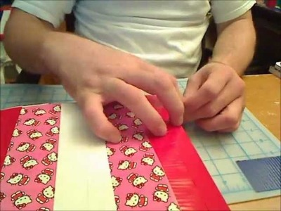 How-to-Make a Small Hello Kitty Duck Tape Bag