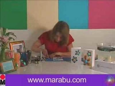 Marabu Easy Marble Greeting Card
