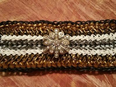 NEW! Madison Avenue bracelet on the Rainbow Loom 3 Looms