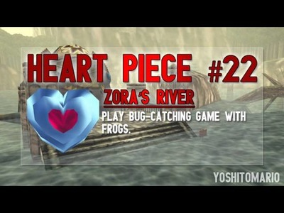 Ocarina of Time 3D: Heart Piece Locations