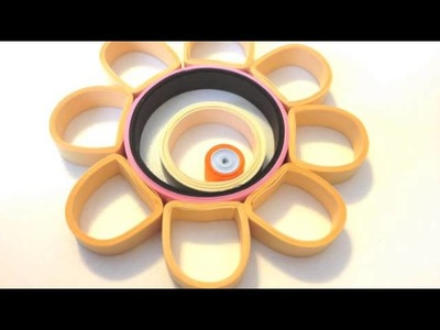 Quilled Necklace Tutorial - Classy Chassis - by Little Circles