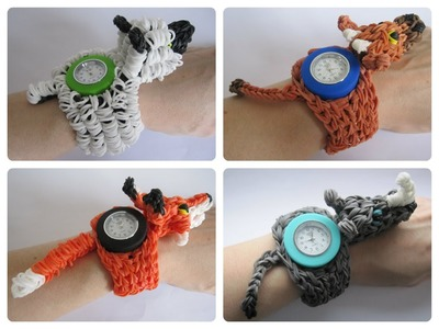 Rainbow Loom Loomey Time animal watch Loombicious