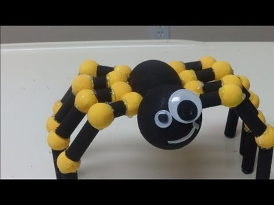 Recycled Projects for Kids: Making a Tarantula