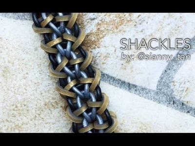 SHACKLES Hook Only bracelet tutorial
