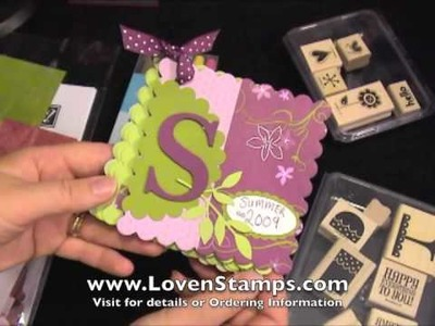 Sneak Peek: Stamps in the Mail Club August 2009