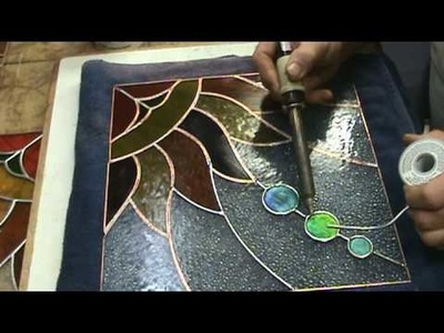 Stained glass how to ideas sg9b sun project
