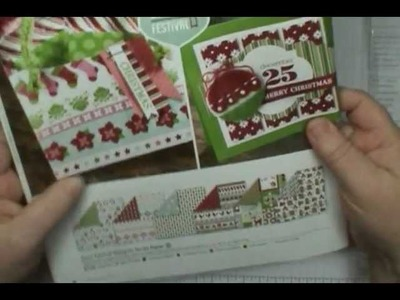 Stampin' Up! Holiday Tags & Trim Gift Box - CUTE!!