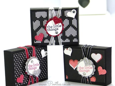 Stampin' Up! UK Valentine's Envelope Punch Board Box Tutorial