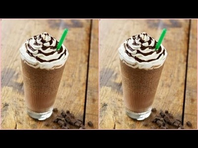 Starbucks Double Chocolate Chip Frappuccino Recipe!
