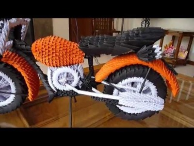 This Was That Way  I created the 3D Origami Motorcycle