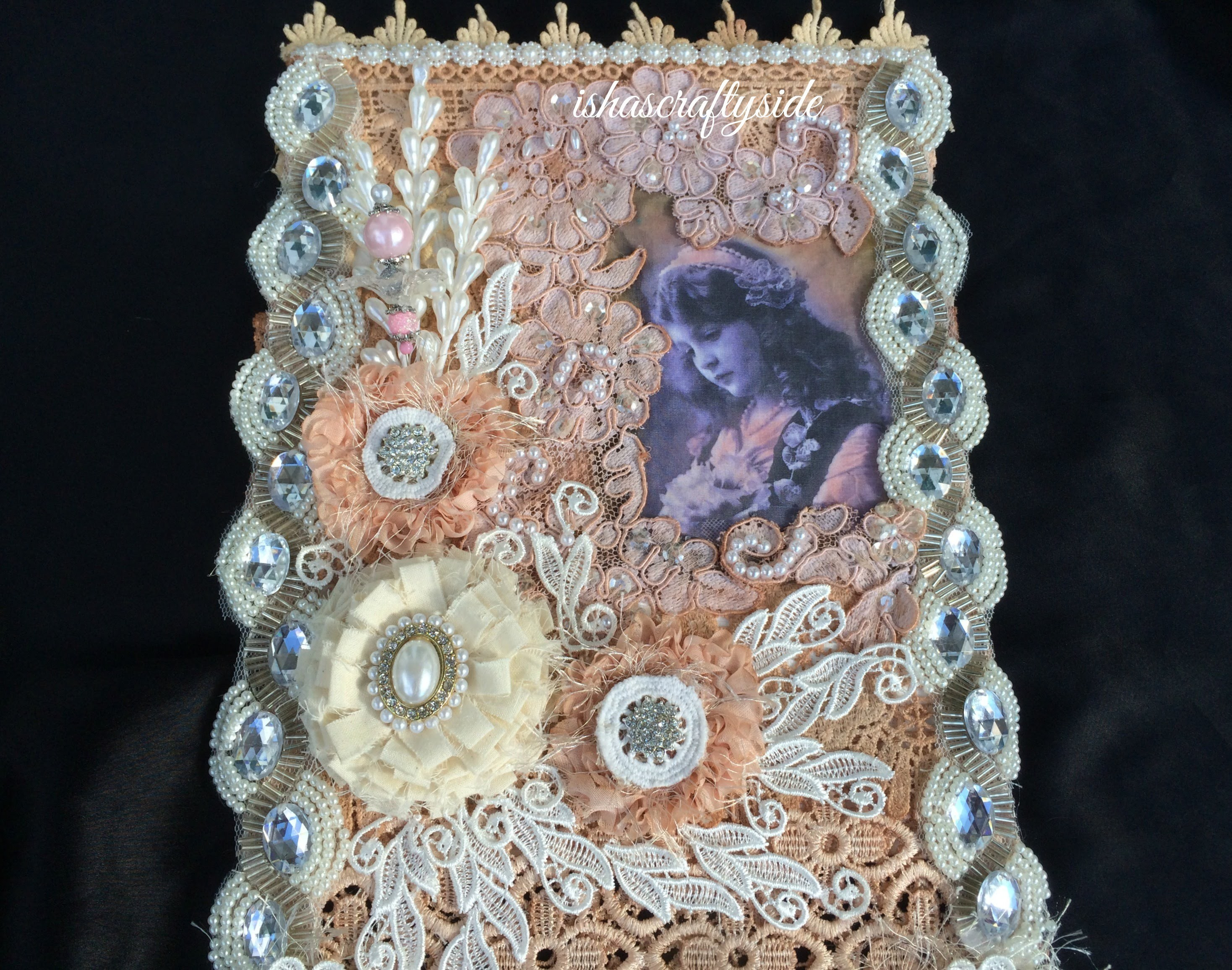 Tutorial - Gorgeous Fabric Wall Hanging for Gone Artsy