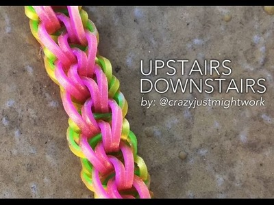 UPSTAIRS DOWNSTAIRS Hook Only bracelet tutorial