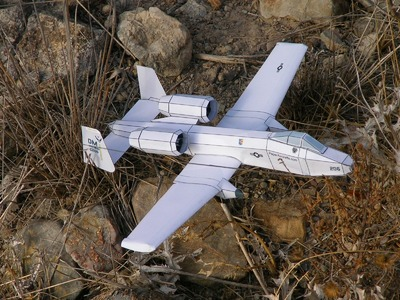 A-10 Paper Airplane 3D model