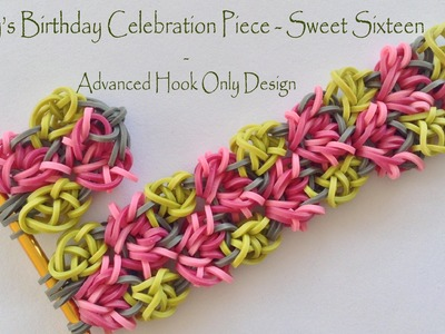 Abby's Birthday Celebration Piece - Sweet Sixteen - Advanced Hook Only Design