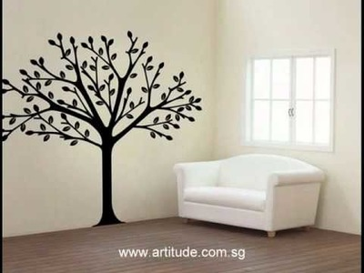 Artitude wall art decals