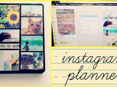 Back to School DIY: Decorating My Planner - Instagram Inspired | How to Edit, Assemble, etc.