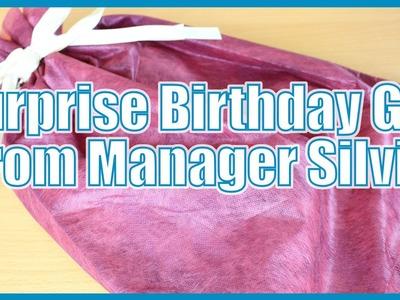 Birthday Surprise from Silvia!