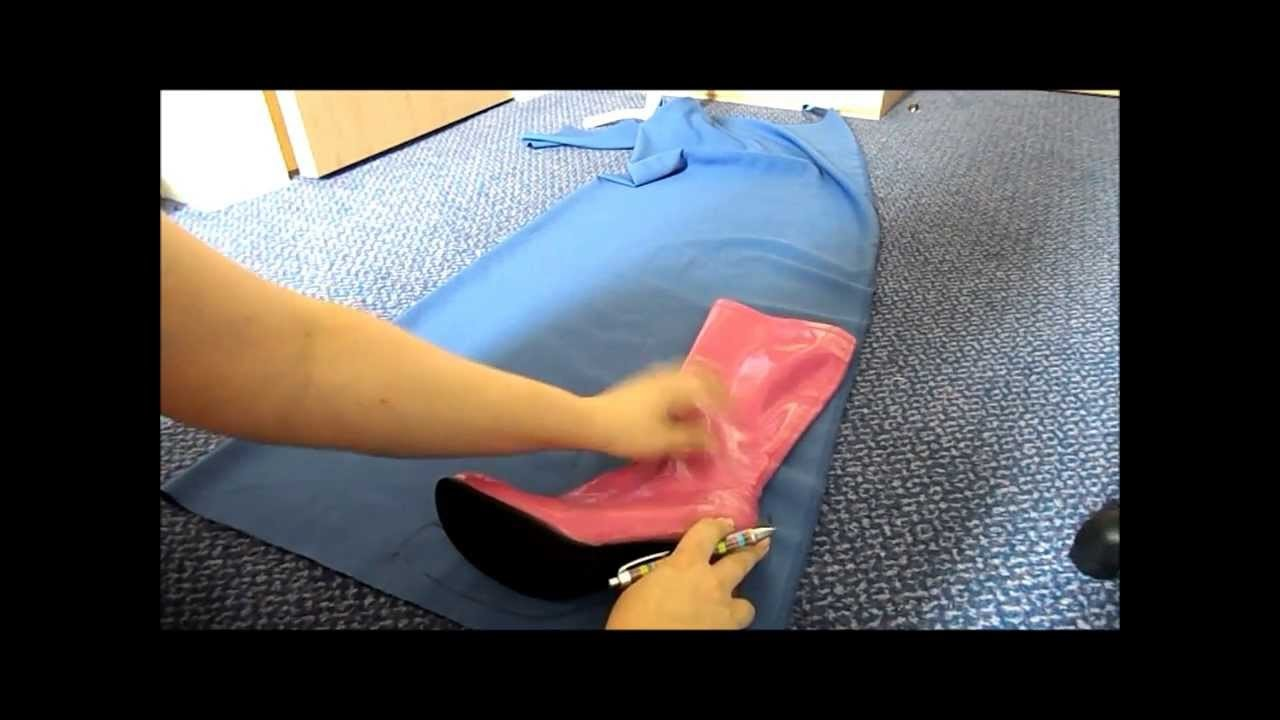 Boot Cover Tutorial How-To Step 1