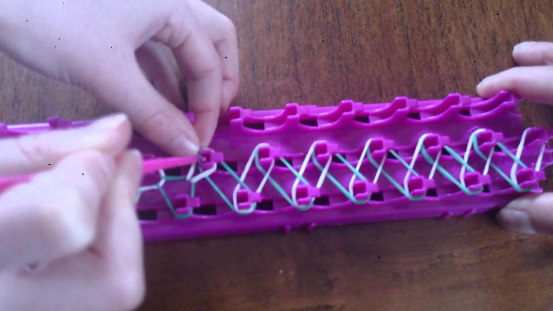 Bracelet simple cra-Z-loom