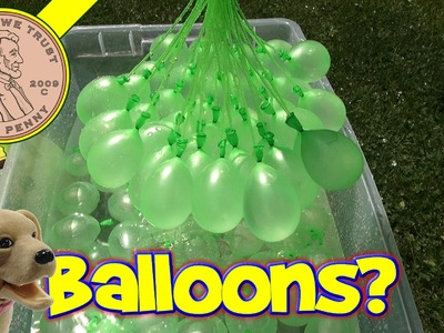 Bunch O Balloons. .make 100 water balloons in less than a minute!