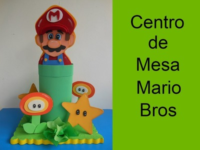 Centro de Mesa Infantil Mario Bros (child table center Mario Bros)