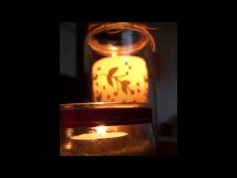 Cómo convertir simples botes en portavelas. How to turn simple jars into candle holder