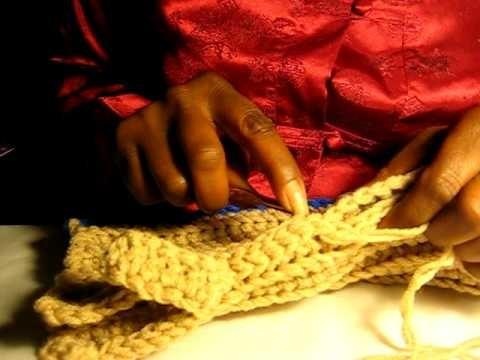 Crochet Cocoon Boot Slippers pt 8c