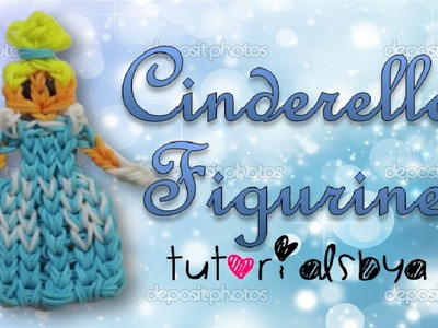 {Disney Princess Series} Cinderella Rainbow Loom Action Figure.Figurine Tutorial