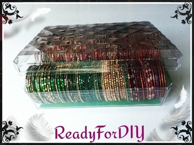 DIY Bangles | Bracelets Storage Box From Chocolate Box - Ferrero Rocher