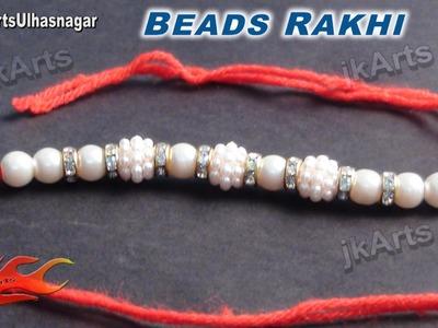 DIY Beads Rakhi Making for Raksha Bandhan - JK Arts 579