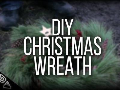 DIY Christmas Wreath - Bushcraft Style