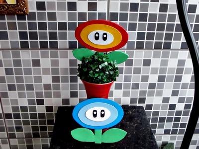DIY - Flor de fogo e de gelo | Mario | Nintendo
