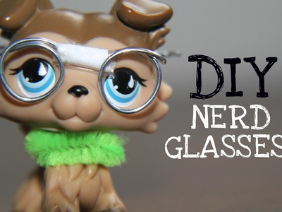 DIY: Nerd Glasses (for LPS & Dolls)