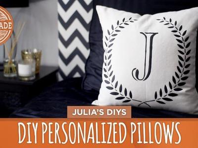 DIY Personalized Pillows - 3 Ways! - HGTV Handmade