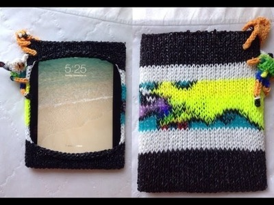 DIY Rainbow Loom Adventure Time Rainicorn IPad Case❤️