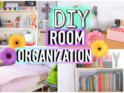 DIY Room Organization and Storage Ideas | How to Clean Your Room! | JENerationDIY