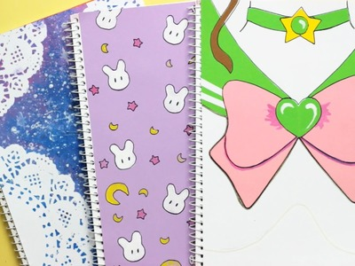 DIY: Sailor Moon Notebook Covers | Back to School
