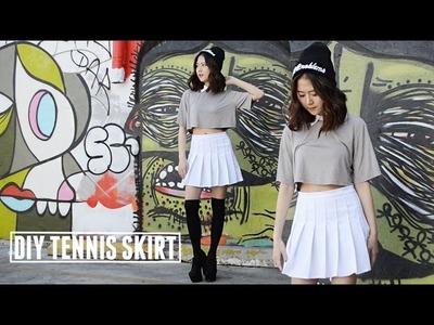 DIY Tennis Skirt