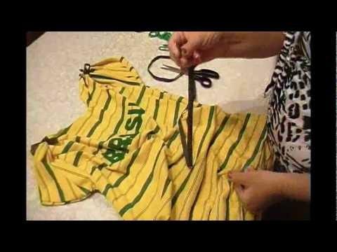 Fassagrassa - Customização de camiseta para a copa 2010 por Gracietti Muniz