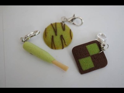 Green Tea Cookie Tutorial,  Polymer Clay Miniature Food Tutorial