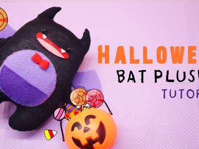 Halloween Bat Plushie Tutorial - Sorbet from Shining Hearts