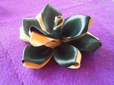 Handmade-DIY-kreasi bunga dari kain satin-floral creations of satin