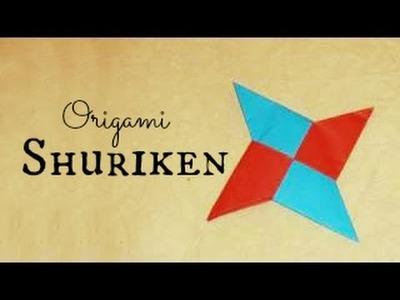 (HD) Shuriken.Ninja Star Origami Instructions