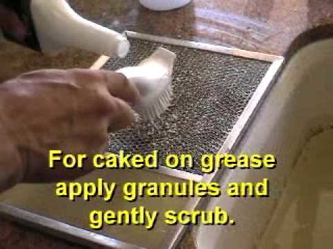 How to Clean Your Stove and Hood with QUICK DEGREASER