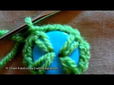 How To Crochet Easy And Cute Button Flowers - DIY Crafts Tutorial - Guidecentral
