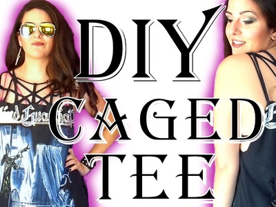How to make a Caged T-shirt DIY