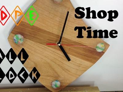 How To Make A Retro HDPE Wall Clock