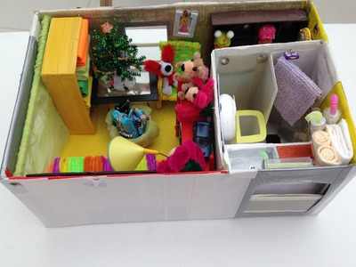 How to make a Shoebox Dollhouse